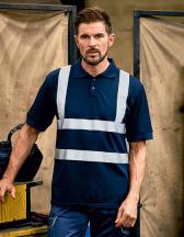 Two Band & Brace Hi Vis Polo Shirt